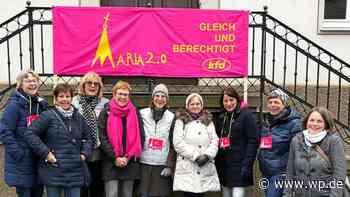 """Maria 2.0 in Olpe: """"Glaubens-Weg"""" durch die Innenstadt - WP News"""