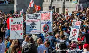 More than 30 arrested during coronavirus protests in London