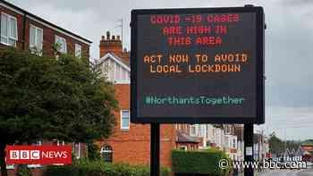 Coronavirus: Northampton council leader says 'keep carping' about tests - BBC News