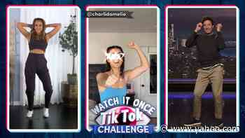 Watch It Once TikTok Challenge with Jessica Alba - Yahoo Entertainment