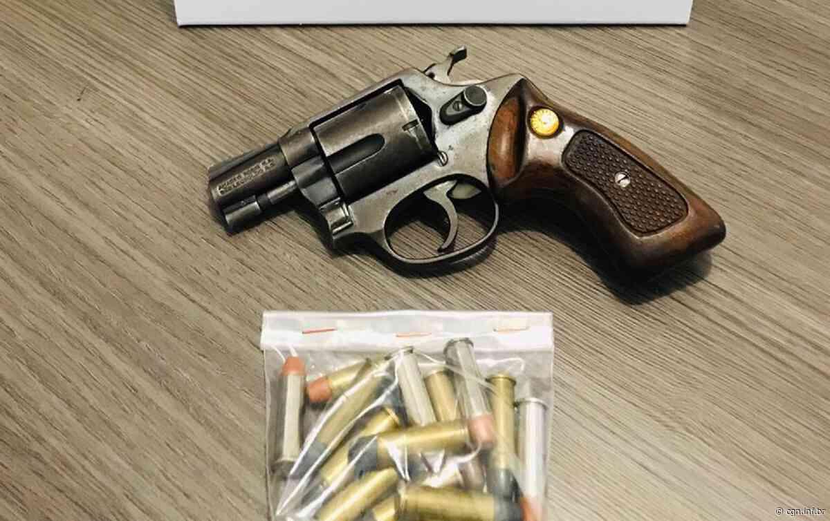 Homem é preso por posse ilegal de arma de fogo em Mangueirinha - CGN