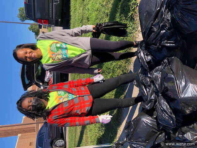 Nearly 2,500 volunteers pick up trash throughout Fort Wayne during Great American Cleanup