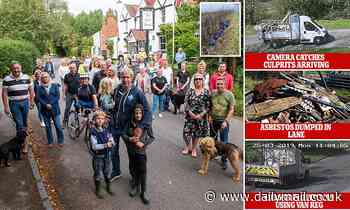 Village that declared war on flytippers - and won!