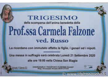 Prof.ssa Carmela Falzone - il Fatto Nisseno