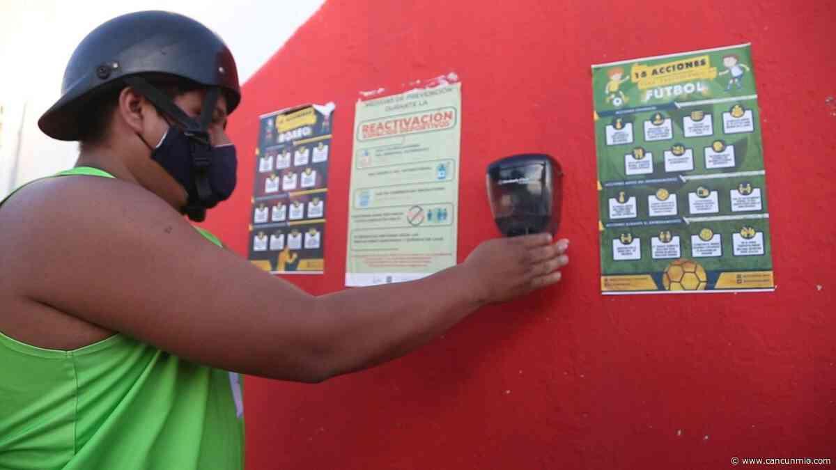 Espacios deportivos en Isla Mujeres abren con cupo limitado - Cancún Mio