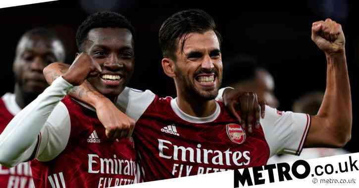 Eddie Nketiah explains Dani Ceballos spat after Arsenal pair link-up to down West Ham