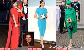 Meet Maria… Meghan's style muse: Fashionista who planned the Duchess of Sussex's outfits