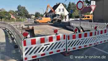 B 101: Bauverzug in Elsterwerda sorgt für Frust in Dreska und Kraupa - Lausitzer Rundschau