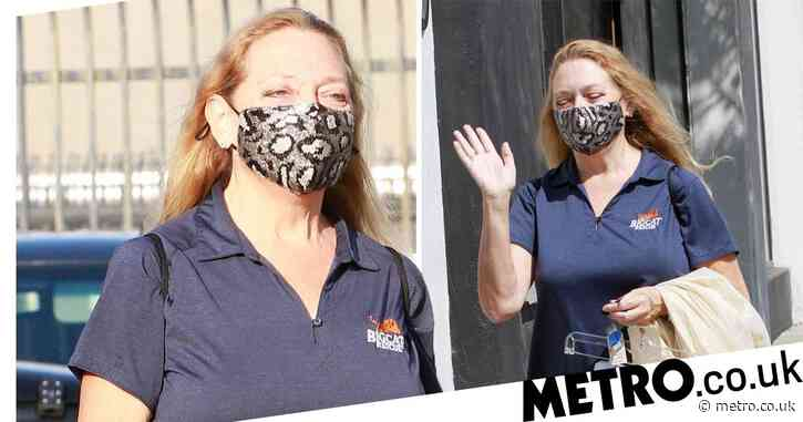 Tiger King's Carole Baskin rocks animal print face mask as she leaves Dancing With the Stars studios
