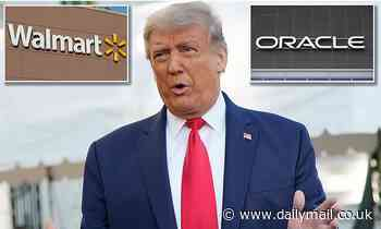 Trump gives TikTok deal with Oracle and Walmart his blessing