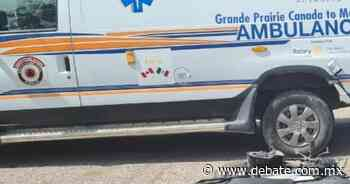Accidente de moto deja dos heridos en La Cruz de Elota, Sinaloa - DEBATE