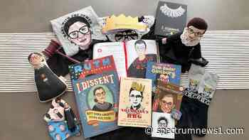 Raised with RBG-themed books, memes, dolls, today her young fans mourn - Spectrum News 1