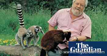 Gerald Durrell honoured with blue plaque at childhood home in London - The Guardian
