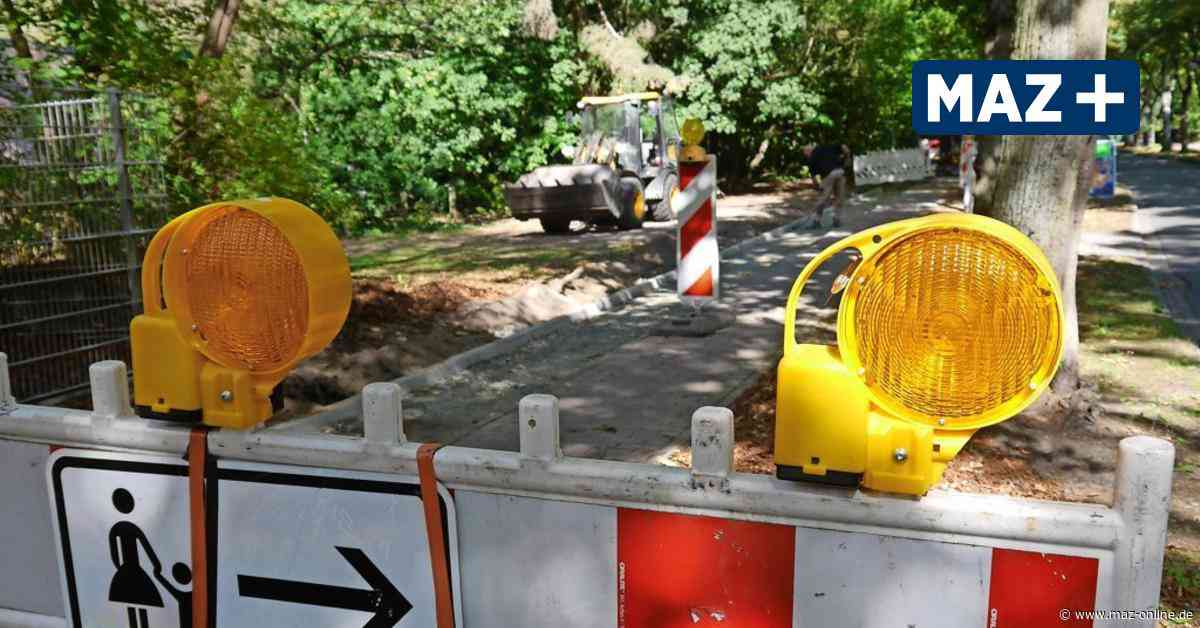 Zeuthen: Das steckt hinter den Bauarbeiten in der Schillerstraße - Märkische Allgemeine Zeitung
