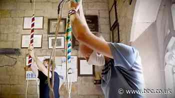 Coronavirus: Church bells ring out again after Covid-19 - BBC News