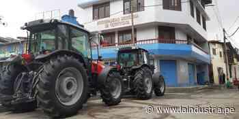 Agricultores de Quiruvilca se benefician con moderna maquinaria - La Industria.pe