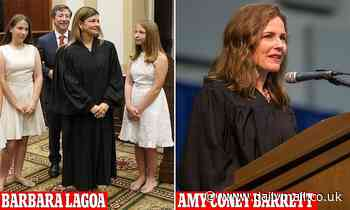 Trump's frontrunners for the Supreme Court nomination are a devout Catholicand Cuban-American judge