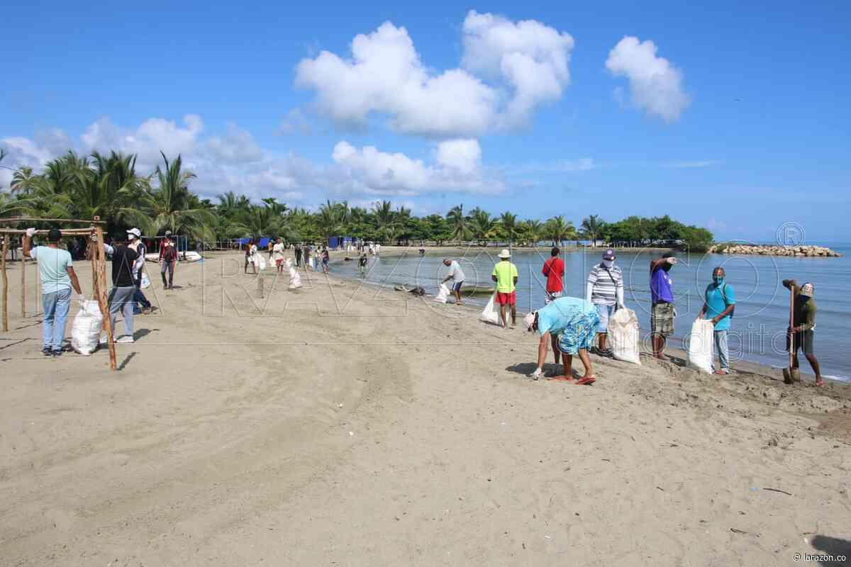 Carperos de Coveñas acogen planes de bioseguridad para apertura de playas - LA RAZÓN.CO