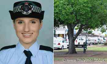 Rookie cop claims she was taunted about the size of her breasts and her underwear after photo leak