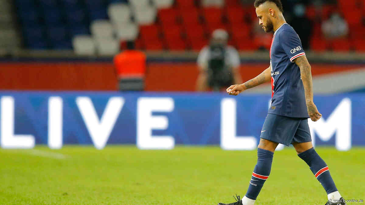 Nach Rassismus-Eklat: PSG-Star Neymar für zwei Spiele gesperrt - t-online