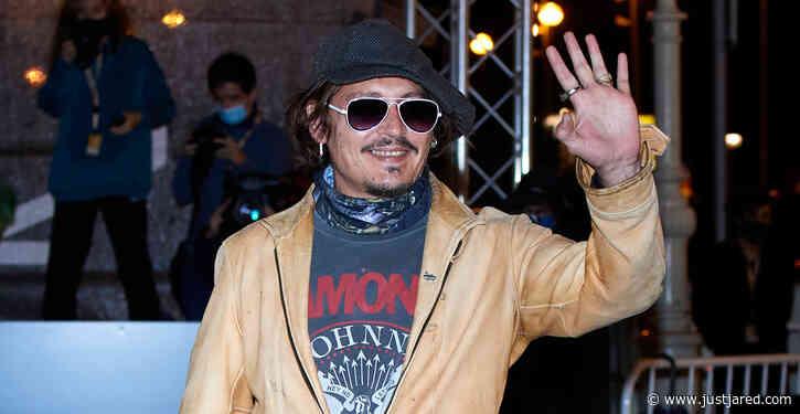 Johnny Depp Arrives in Spain for San Sebastian International Film Festival