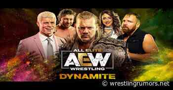 AEW Running Special Edition Of Dynamite Next Week - Wrestling Rumors