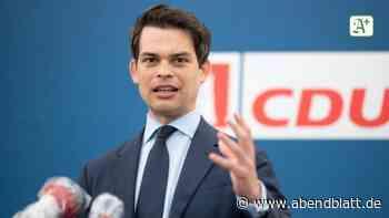 Parteien: Hamburgs designierter CDU-Chef sieht sich in Bundespolitik