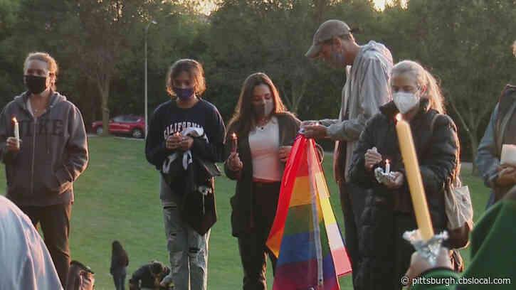 Vigil For Ruth Bader Ginsburg Held In Schenley Park