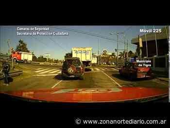 Don Torcuato: Controlan incendio tras un triple choque y explosión en Panamericana - Zona Norte Diario OnLine