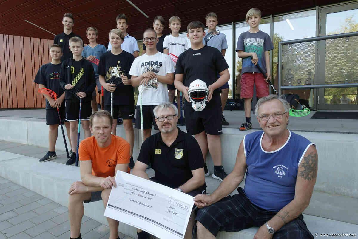 Döbeln: Floorball-Jugend bekommt Geld - Sächsische Zeitung