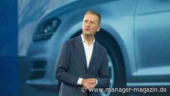 Volkswagen: Herbert Diess warnt vor Arbeitsplatzverlusten durch neue EU-Klimaziele