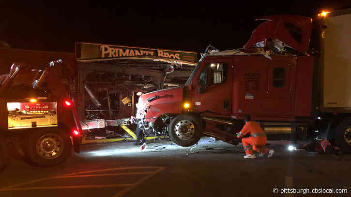 Tractor Trailer Crashes Into Primanti Bros. Restaurant In Crafton