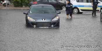 VIDEO. Deux personnes évacuées de leur voiture, piégées par la montée des eaux à Saint-Laurent-du-Var