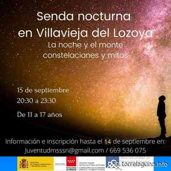 Senda nocturna en Villavieja del Lozoya - torrelaguna.info