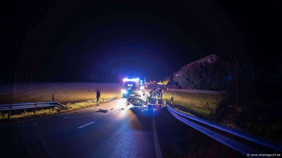 Fotostrecke: Unfall bei Trostberg am 19. September 2020 - chiemgau24.de