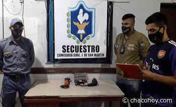 General San Martin, lograron restituir un taladro y una notebook a sus respectivos propietarios - ChacoHoy