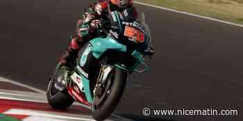 Le Niçois Fabio Quartararo 4e du Grand Prix d'Emilie Romagne MotoGP