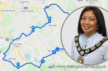 How residents can pay respects to Hertsmere mayor Cynthia Barker