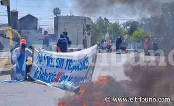 Nuevo corte sobre avenida Tavella de familias asentadas en San Calixto - El Tribuno.com.ar