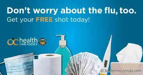 The County of Orange is offering free flu shots