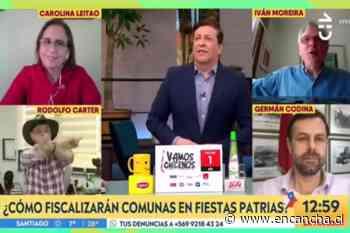 Iván Moreira sacó carcajadas en el matinal con su paya dieciochera - EnCancha.cl