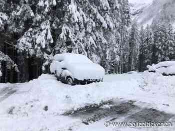 Wetterwarnung - Winterliche Strassenverhältnisse in den Bergen zum nächsten Wochenende erwartet - Polizeiticker.ch