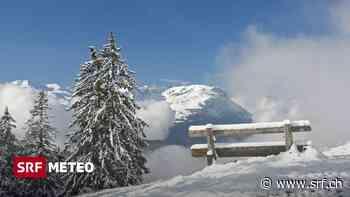 Wetter-Tendenz - Wintereinbruch in den Bergen - Meteo - Schweizer Radio und Fernsehen (SRF)