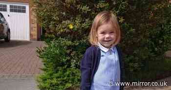 Miracle as girl, 4, starts school after surviving three liver transplants