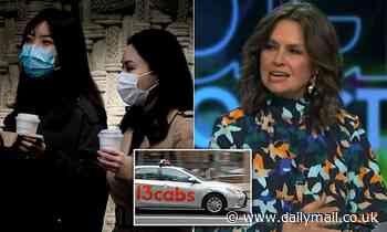 Lisa Wilkinson blasts 'crazy' taxi rule after driver worked NINE days infectious with coronavirus