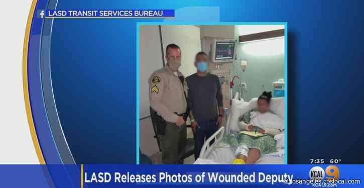 Female Deputy Ambushed In Compton Shooting Remains Hospitalized In ICU