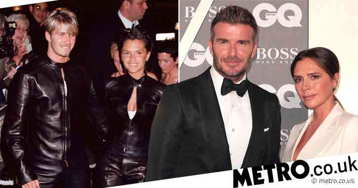 Victoria Beckham reflects on the time she and David had 'the nerve' to wear matching leather Gucci outfits to a Versace event