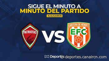 Patriotas vs Envigado EN VIVO ONLINE: Liga BetPlay 2020 - Deportes RCN