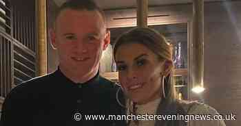 Wayne and Coleen Rooney all smiles as they celebrate her parents' 40th wedding