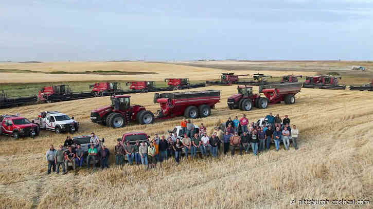 After A Farmer Suffered A Heart Attack, His Neighbors Banded Together To Harvest His Crops
